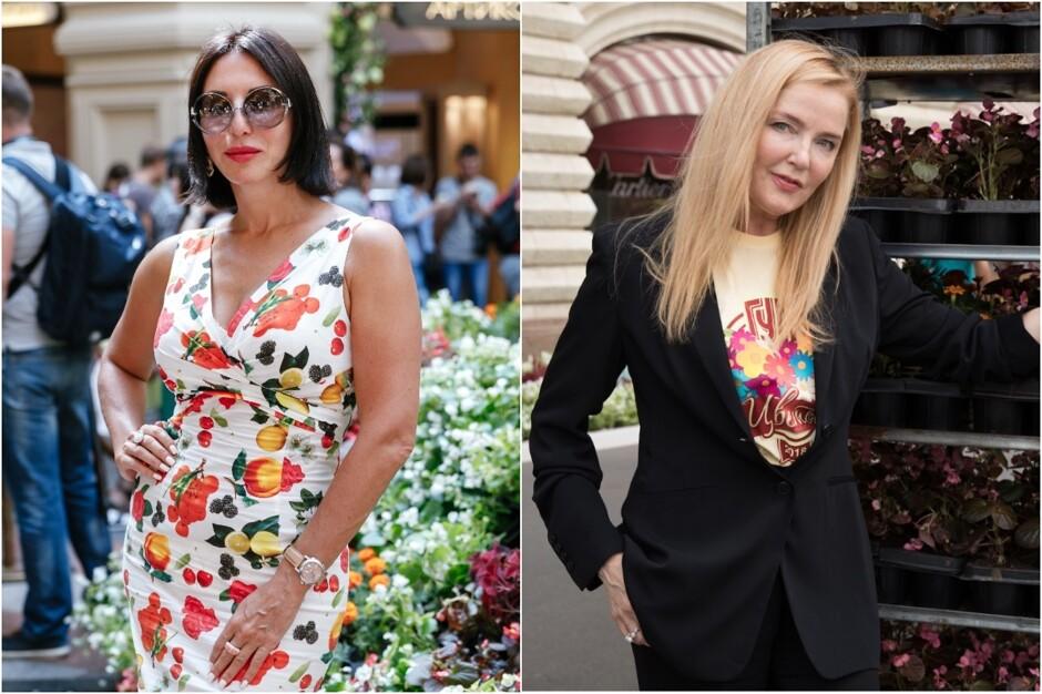Алика Смехова и Лариса Вербицкая открыли Фестиваль цветов в ГУМе ... 098773aec1a