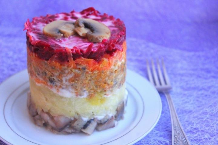 салат шуба рецепт классический пошаговый