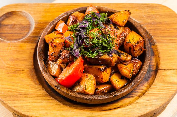 Как готовить оджахури грузинский рецепт в глининой посуде