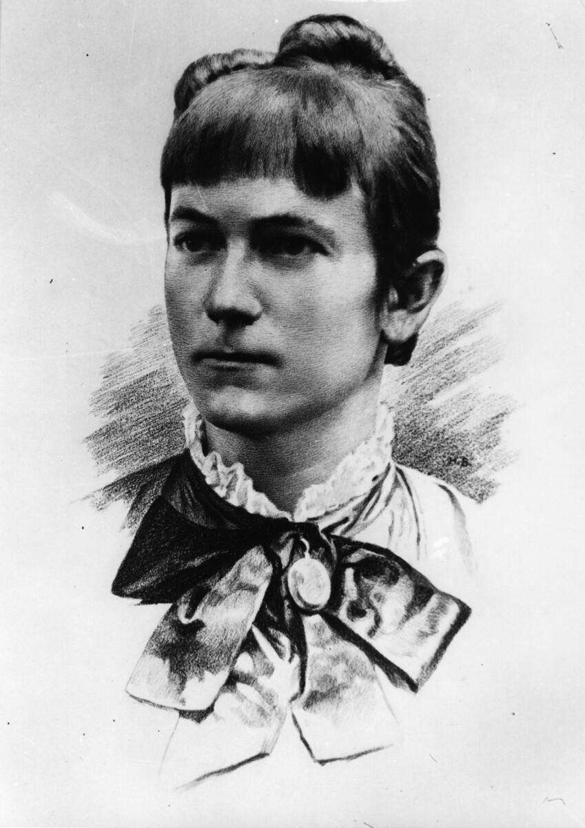 Клара Цеткин в молодости
