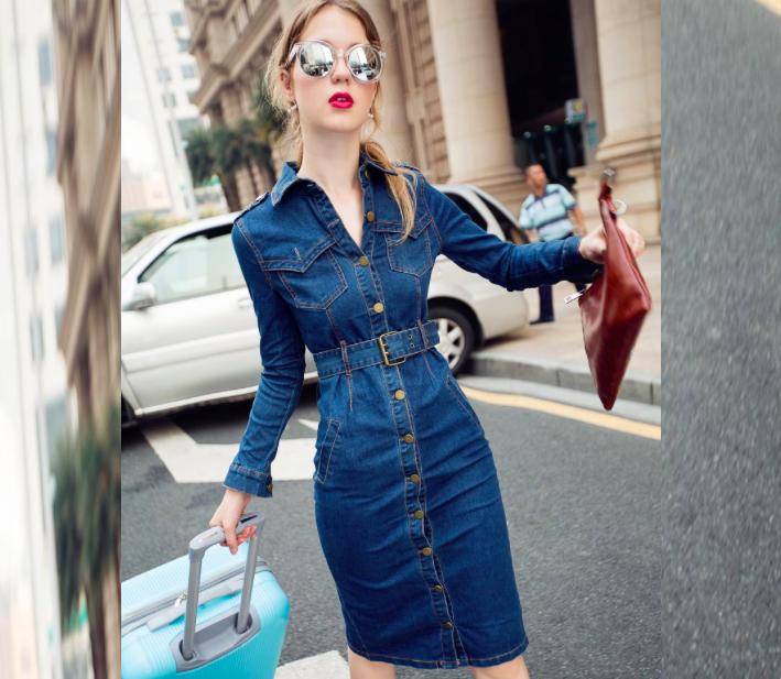 172d3a76aab704a Топ-10: джинсовые платья на весну - Мода - Леди Mail.ru