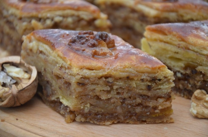 рецептура выпечки пахлавы для пекарни