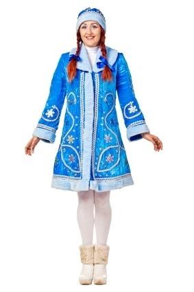 Платье или костюм для снегурочки