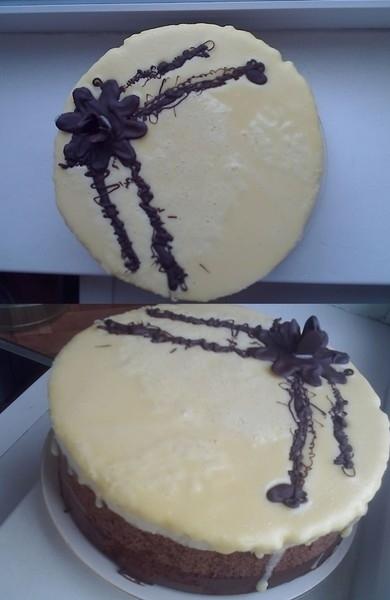 Как приготовить торт три шоколада на в