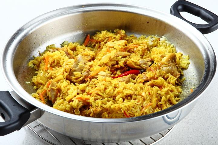 как приготовить карри с курицей и рисом
