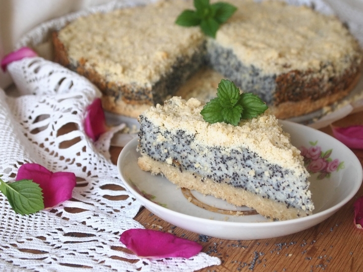 сирно маковий торт рецепт