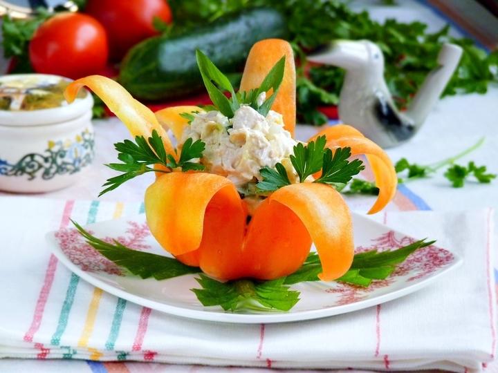 как приготовить салат восхитительный