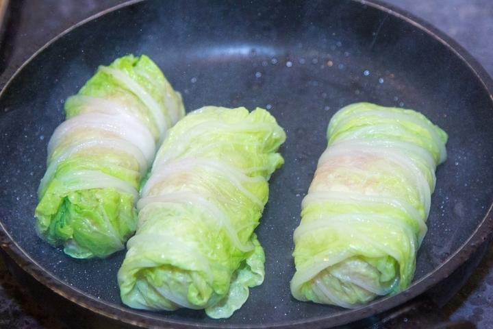 Голубцы пекинская капуста рецепт пошагово с фото