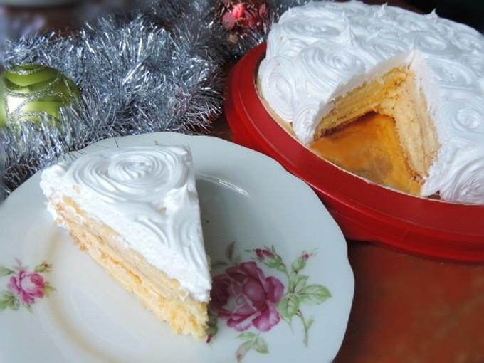 торт зимняя сказка рецепт с фото