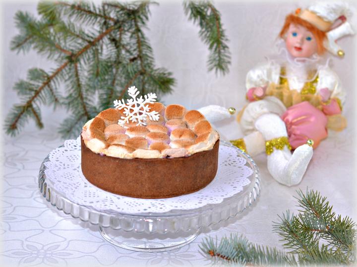 простые тортики с маршмеллоу