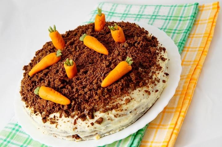 морковный торт классический рецепт пошаговый с фото