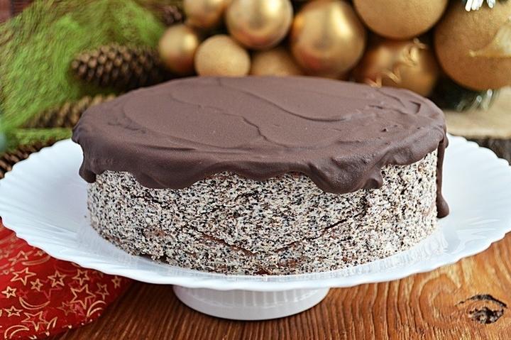 Маковый торт пошаговый рецепт с фото