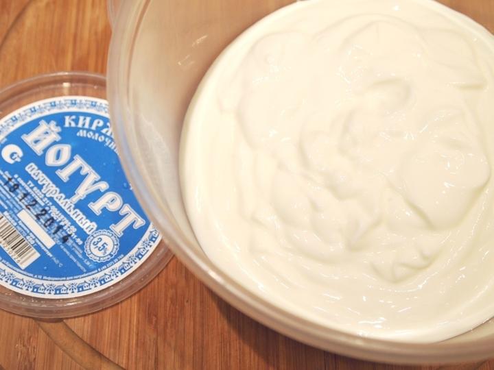 Простой йогуртовый крем для торта пошаговый рецепт с