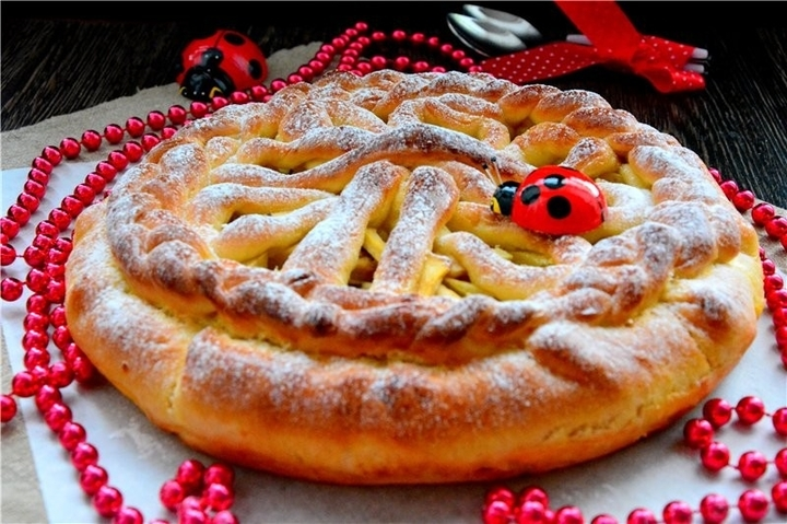 Воздушный пирог с яблоками рецепт с пошагово