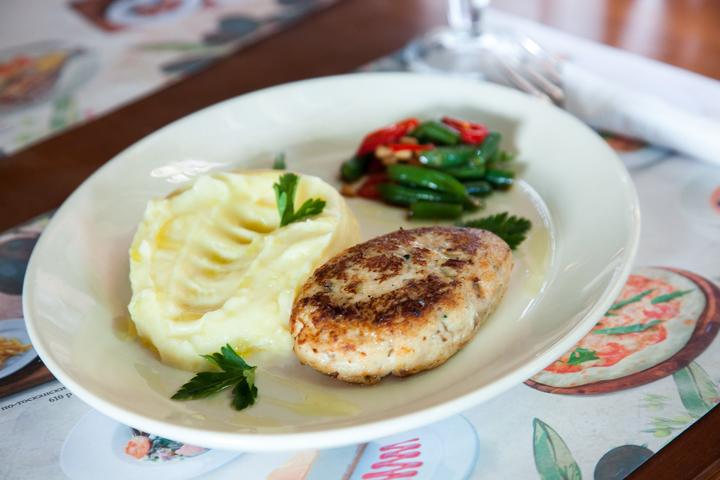 котлеты рыбные с гарниром пошаговый рецепт