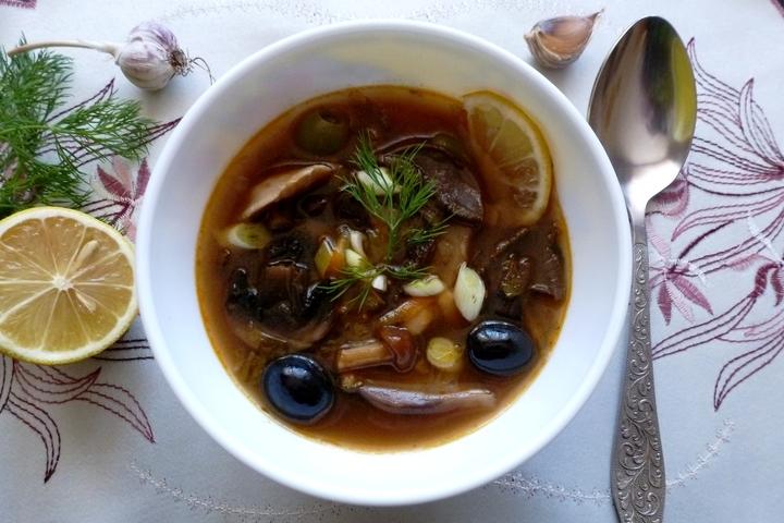 рецепт солянки супа классический пошаговый рецепт с фото на