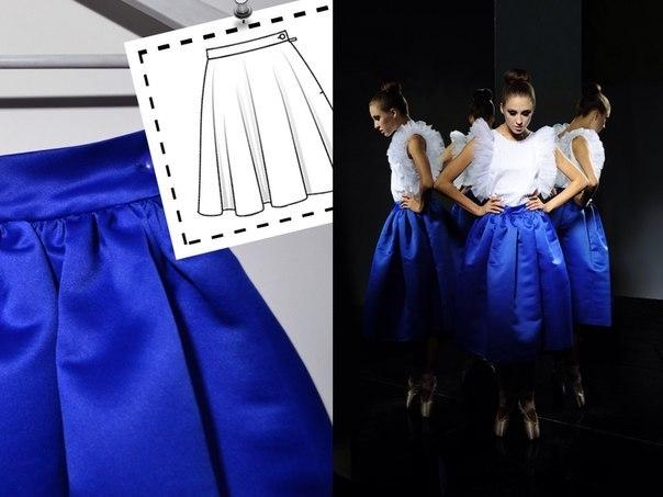 Пышные юбки из тафты