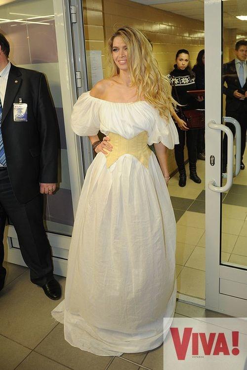 Белое платье валерии