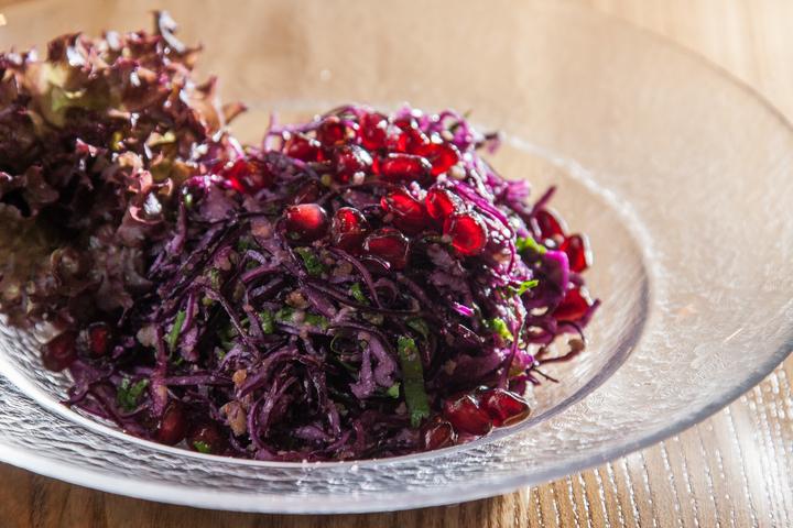 как приготовить салат с красной капусты