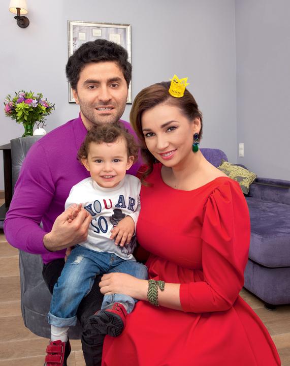 анфиса чехова фото с семьей