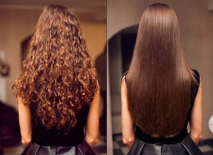 Картинки по запросу выпрямление волос