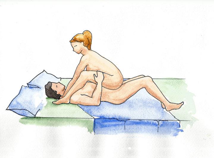 28 поз для лесбийского секса от Cosmopolitan  LesbiruCom