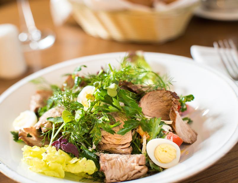Фото рецепты ресторанных салатов с фото
