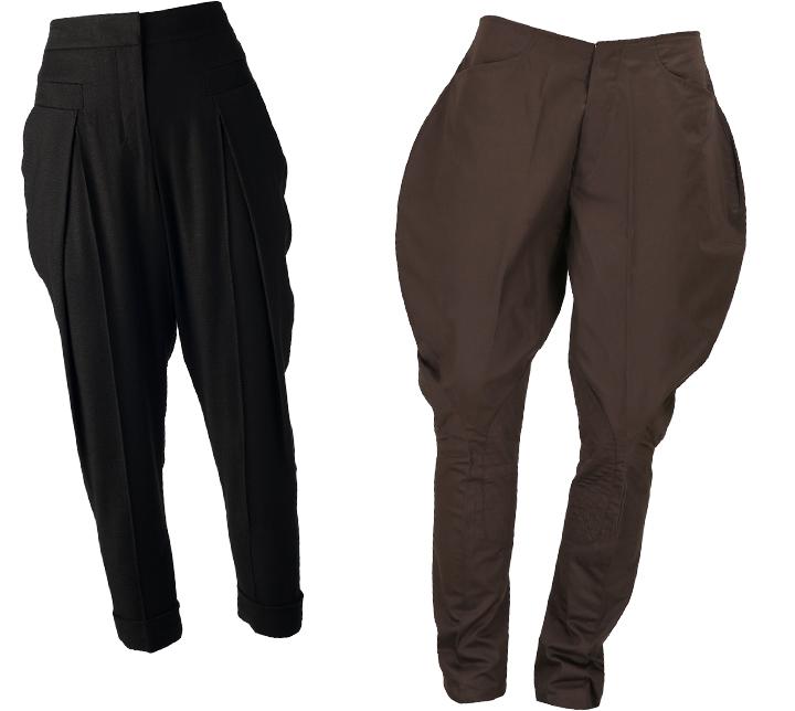 Женские брюки галифе