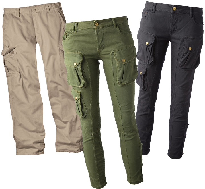 Купить брюки карго женские