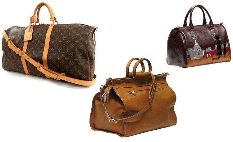 Дорожные сумки саквояжи на колесиках leaves king чемоданы отзывы