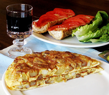 Тортилья испанская рецепт классический