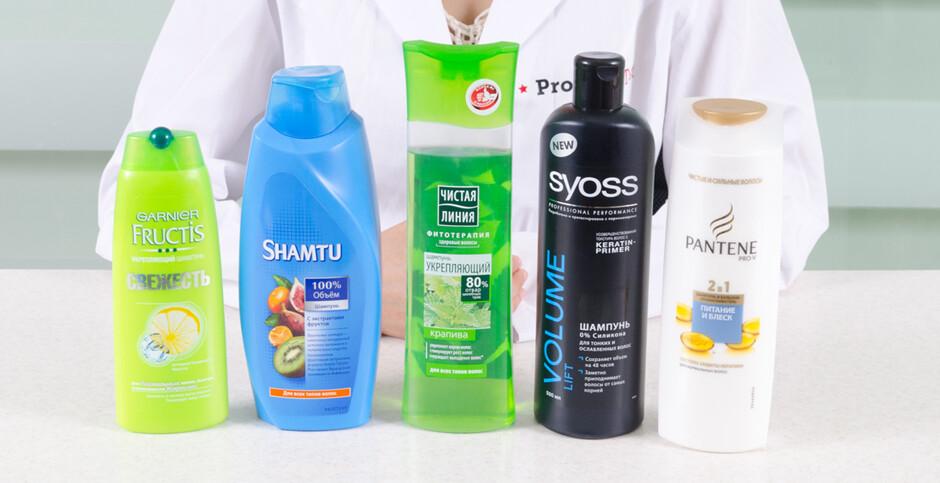 Качественный шампунь для волос список