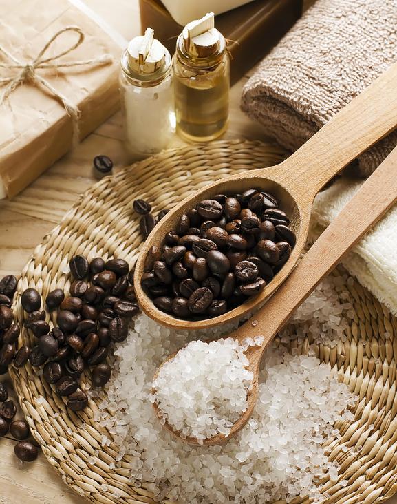 Скраб из кофе соли и масел