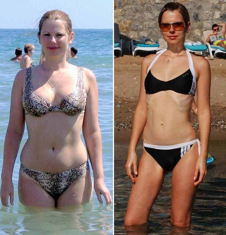 фото я похудела до и после