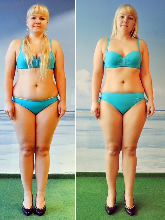 Похудела на кг и 2 см в талии