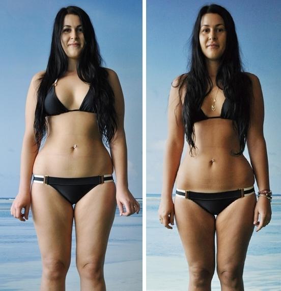 При 65 весе кг похудеть на 8