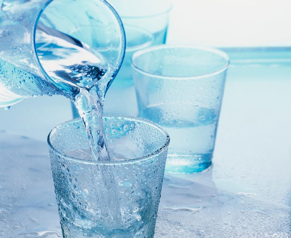Пьем холодную воду