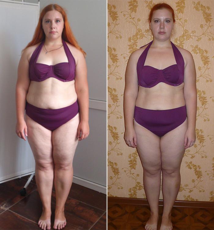 похудела на 18 кг за месяц