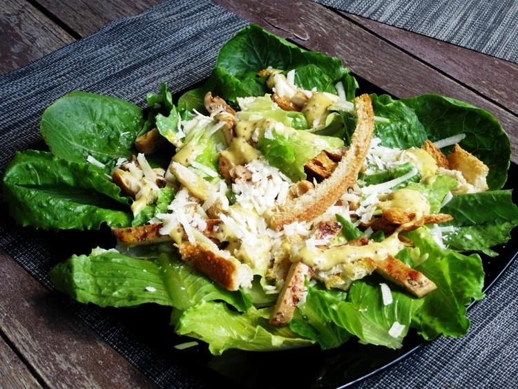 салат цезарь класический по шаговый рецепт