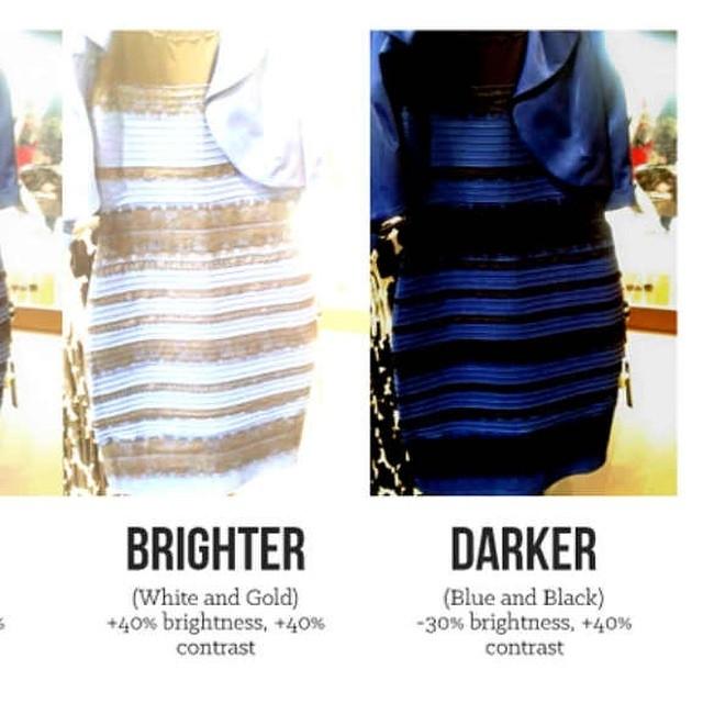 Платье которое кажется разного цвета
