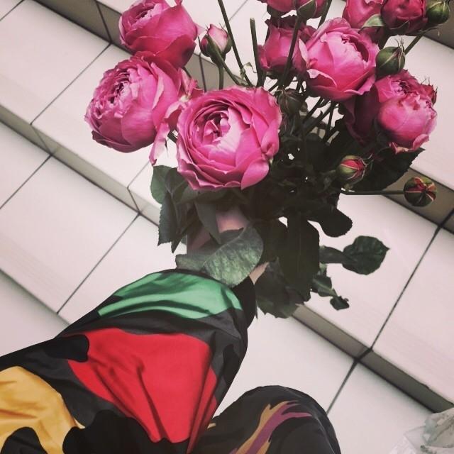 Фото для инстаграмм цветы 2
