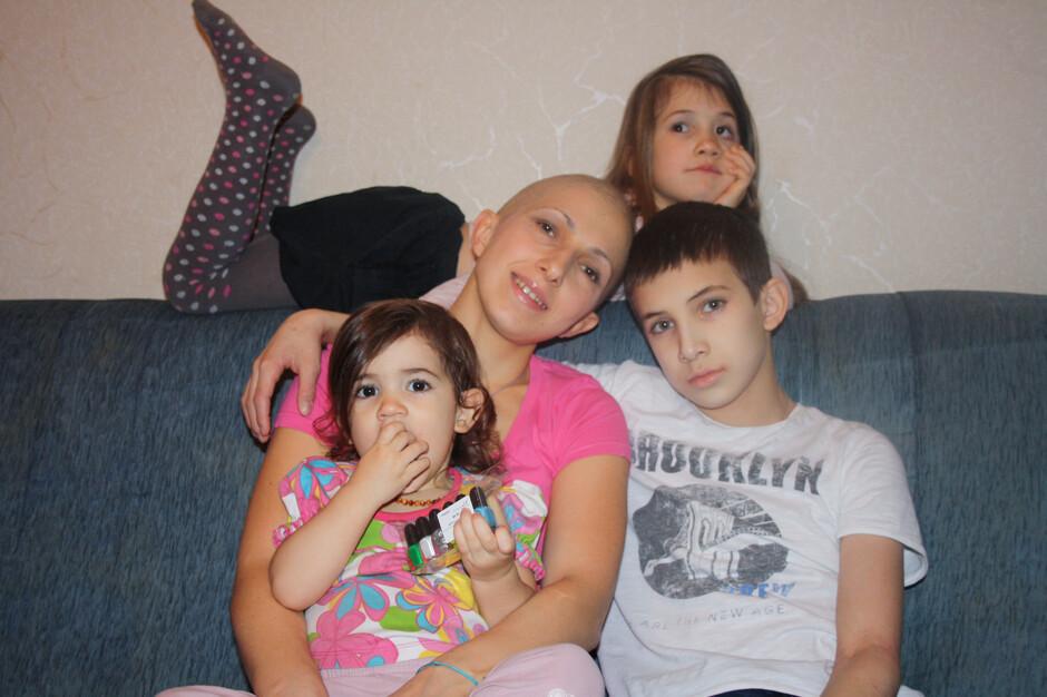 Ольга Филиппова, 37 лет, Москва, мама троих детей, победила рак: