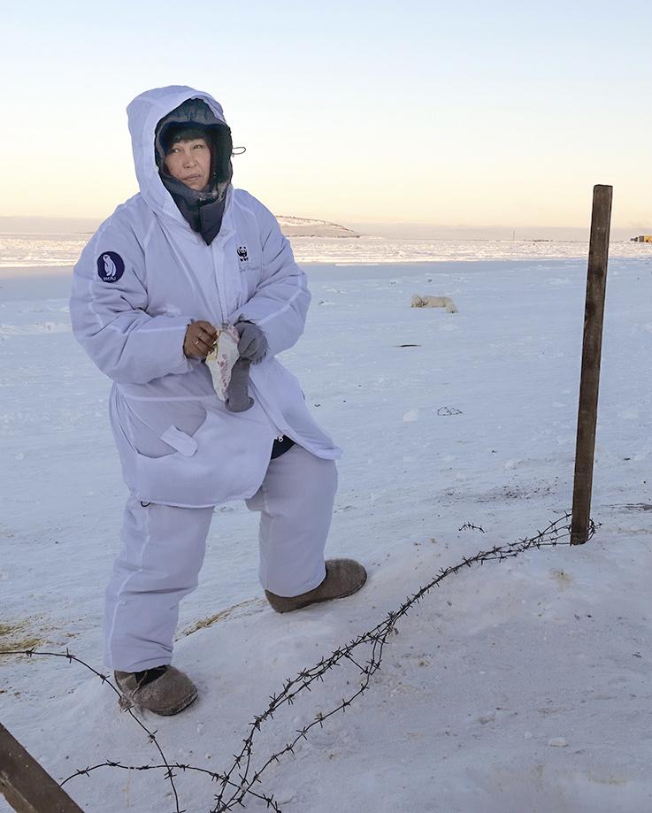 Татьяна Миненко, 46 лет, Рыркайпий (Чукотка), руководит «Медвежьим патрулем» WWF: