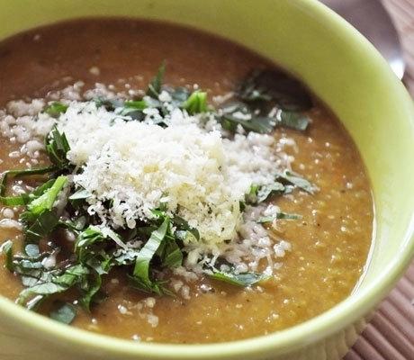 как варить суп из чечевицы коричневой