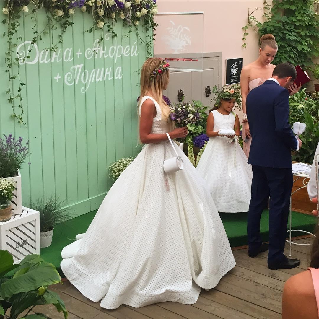Дана борисова свадьба 2018 фото