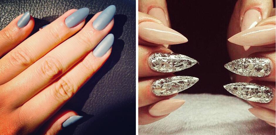 Идеи для острых ногтей фото