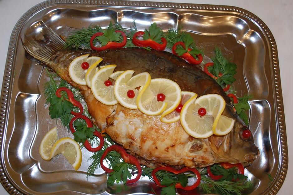 Поздравления к подарку блюдо из рыбы