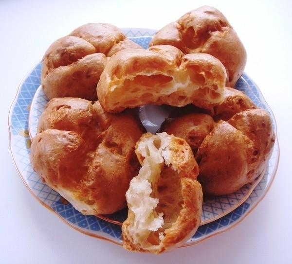 профитроли сырные пошаговый рецепт с фото