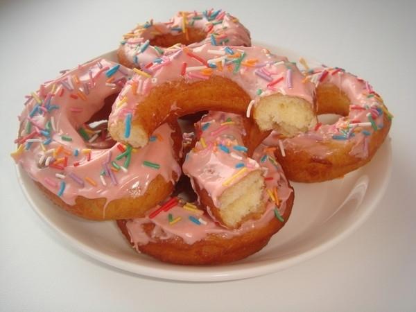 пончики в глазури рецепт с фото