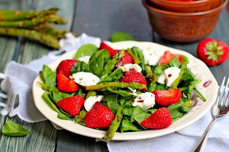 салаты со спаржей рецепты с фото простые и вкусные